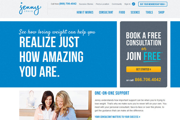 Jenny Craig Weight Loss – Weight Loss Consultant