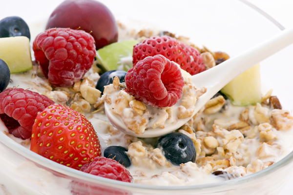 low fat muesli