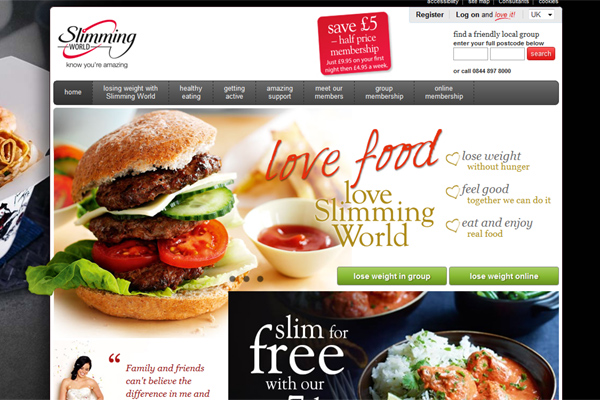 Slimming World website